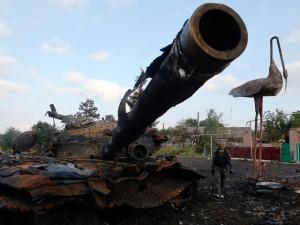 tanc distrus