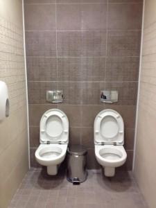 tualeta dubla