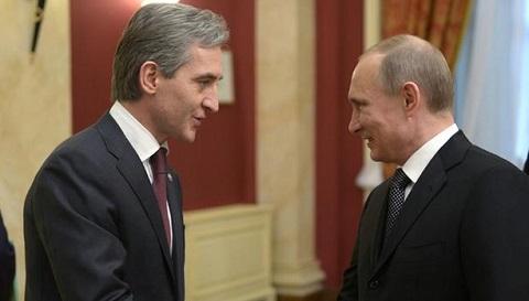 Timofti si Putin