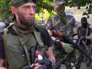 combatanti batalionul Dnepr