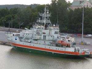 nava de cercetare