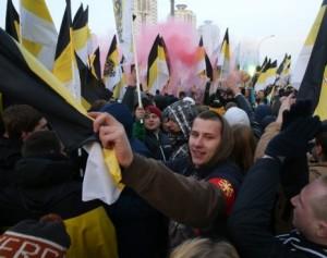 marsul rusilor