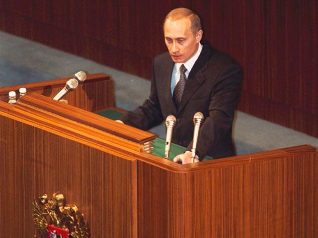 Putin in 1999