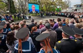 Putin la tv