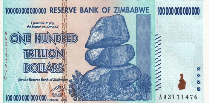 dolari zimbabwe