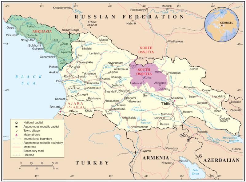 georgia harta