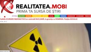 scurgeri radioactive