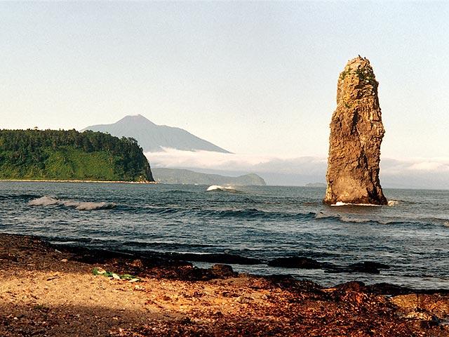 Kuril Islands. Kunashir