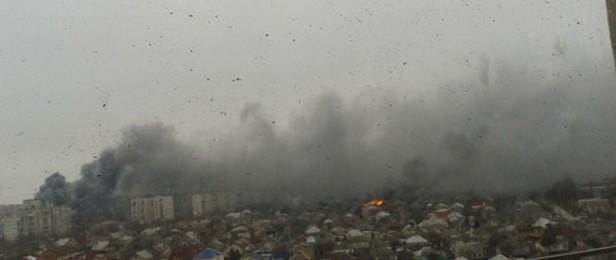 Mariupol atacat