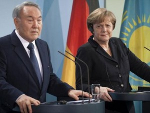 Nazarbaev Merkel
