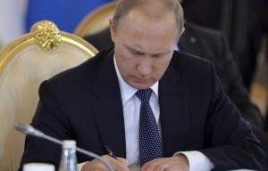 Putin semnare