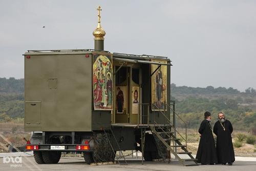 Russian military Orthodox chapel, vpk.name