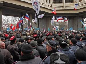 demonstratie Crimeea