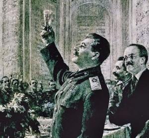 stalin petrecere