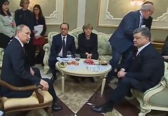 Porosenko Putin