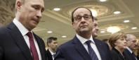 Putin Hollande