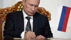 Putin semnatura