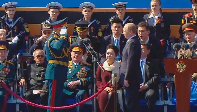 Putin parada