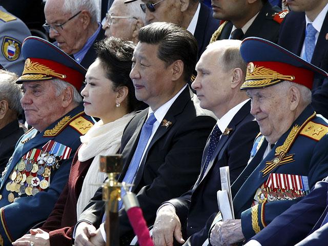 parada Xi Jiaping si Putin