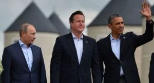 Putin Obama Cameron