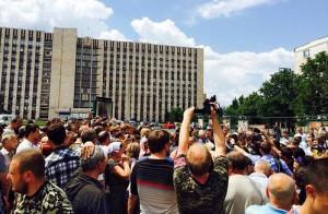 protest Donetk