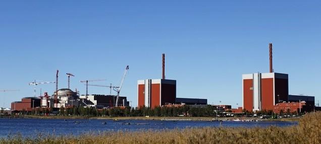Olkiluoto 3 nuclear power plant near Rauma
