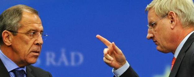 Karl Bildt-Serghei Lavrov