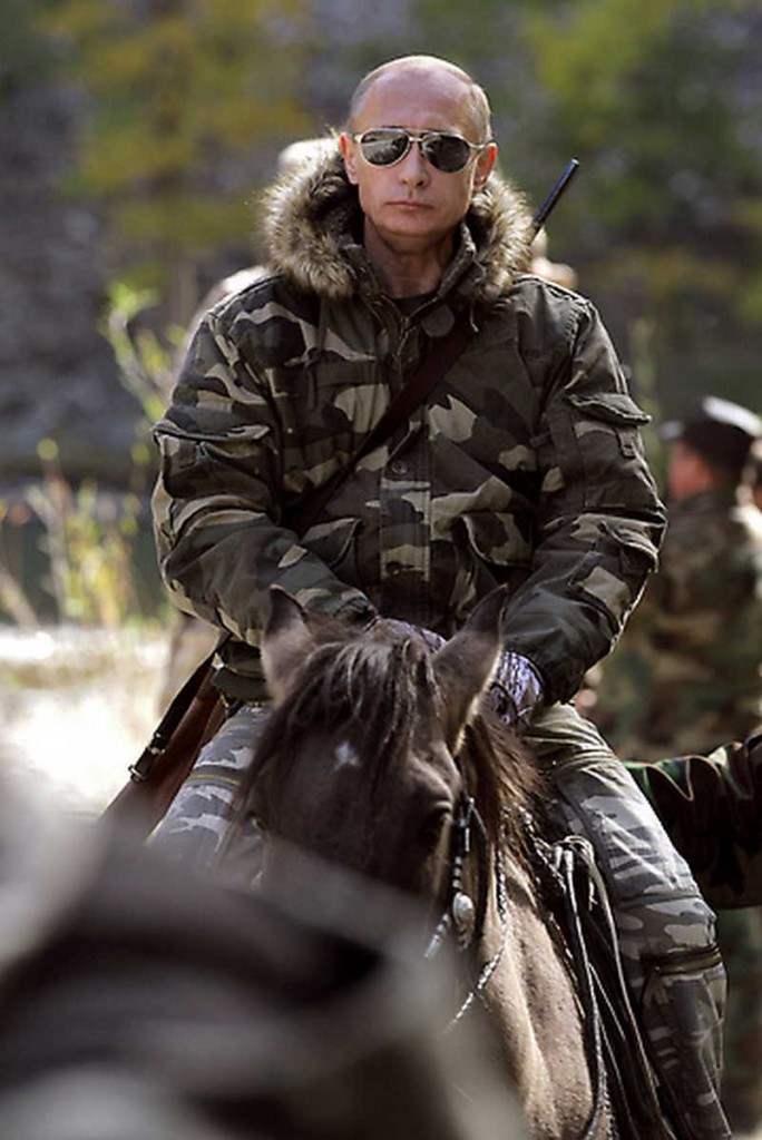 Putin pe cal
