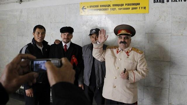 Stalin Lenin Moscova