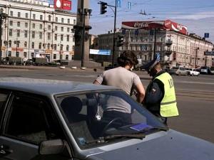 politist rus trafic