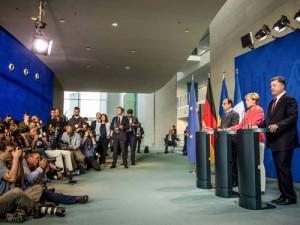 Porosenko Merkel Hollande