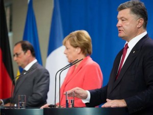 Porosenko Merkel Hollande2