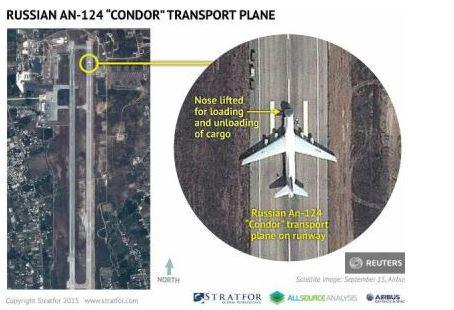 AN-124 Latakia Siria