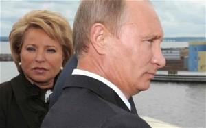 Matviyenko Putin
