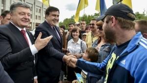 Porosenko Saakasvili