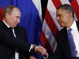 Obama Vladimir Putin