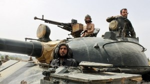 luptatori sirieni