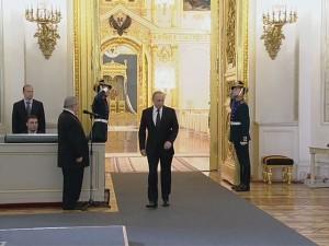 Putin solemn