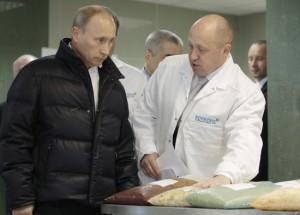 Putin cu bucatarul sau