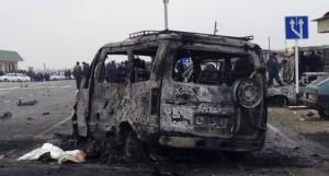 atentat Daghestan masina capcana