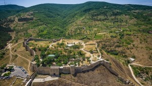 Naryn-Kala fortress in Derbent, Dagestan