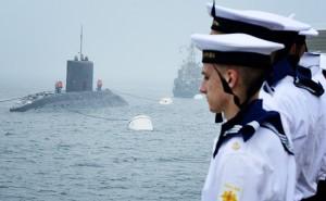 submarine parada navala Vladivostok