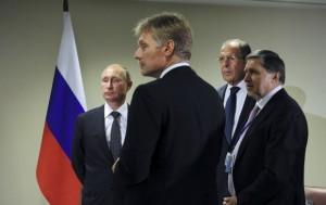 Putin Lavrov Peskov