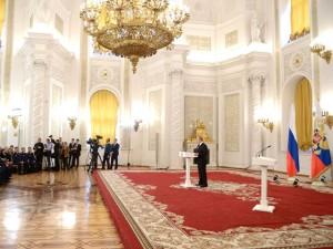 Putin decoratie