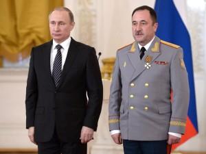 Putin si general tanchist