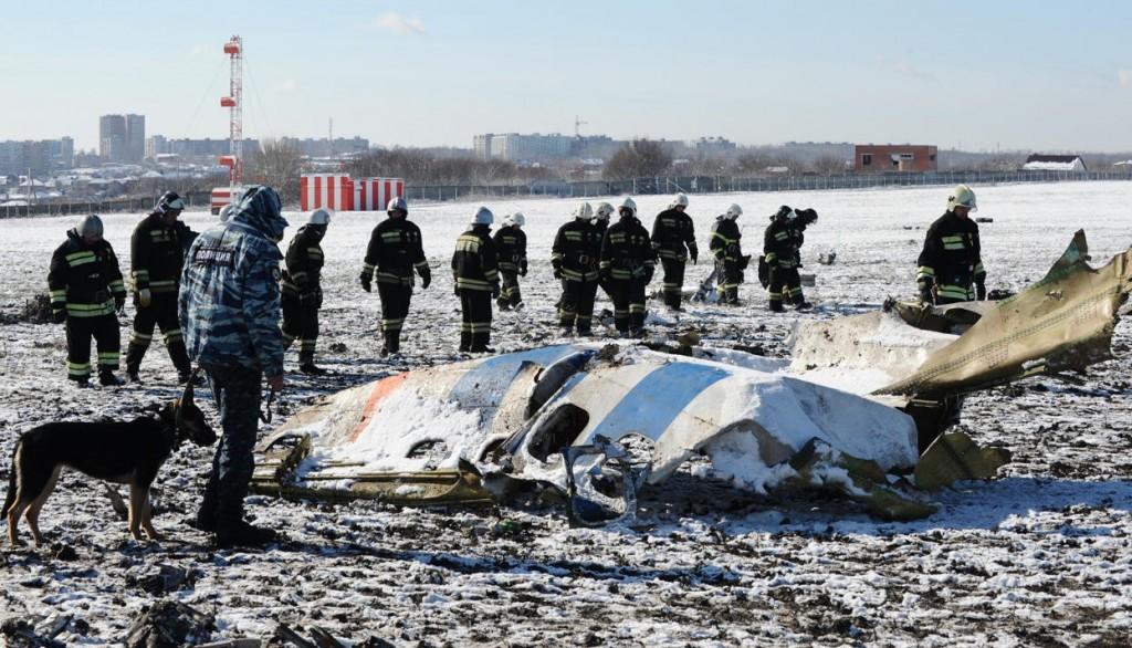 avion prabusit Rostov