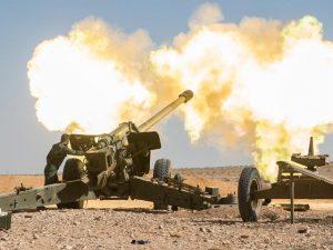 artileria rusa