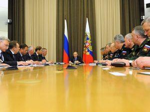 Putin ministri generali