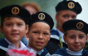 copii educatie patriotica