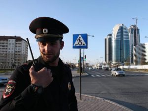 politie cecenia